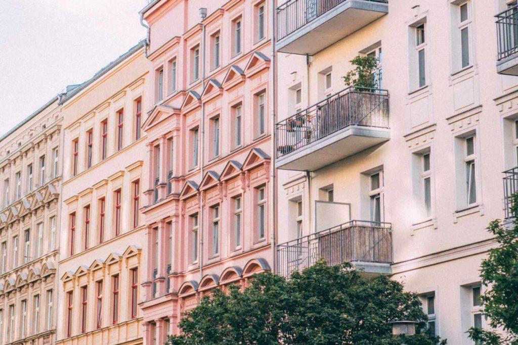Altbauten am Prenzlauer Berg in Berlin